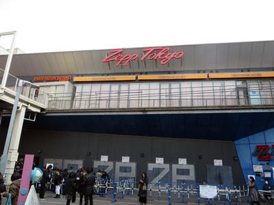 ツアー2日目Zepp Tokyo