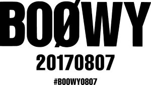"「""GIGS"" CASE OF BOØWY」"