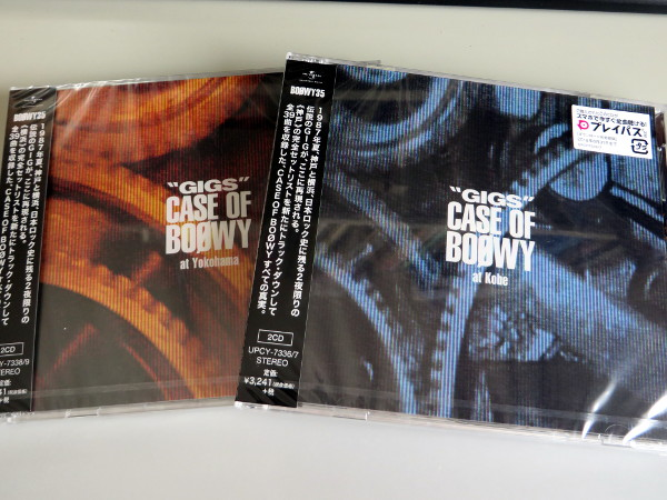 "ライブCD「""GIGS"" CASE OF BOØWY」フラゲ"