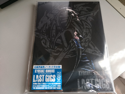 「THE COMPLETE FILM OF LAST GIGS」リリース