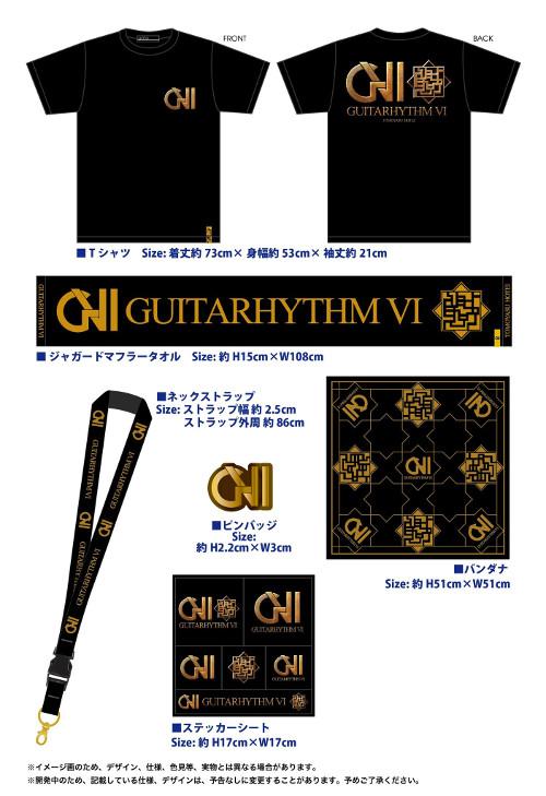 「GUITARHYTHM VI」グッズセット
